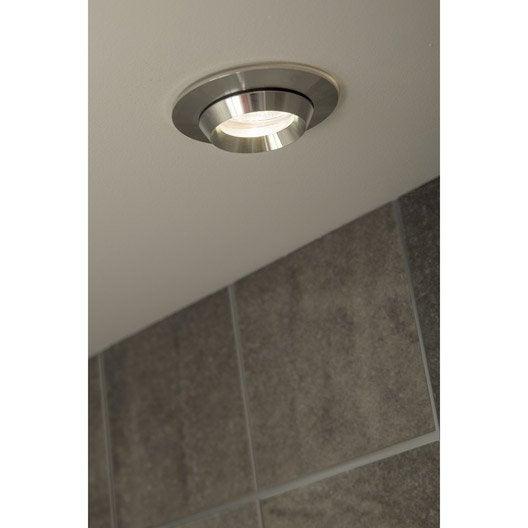 Kit 1 spot à encastrer salle de bain halogène fixe Jaslo 50W ...