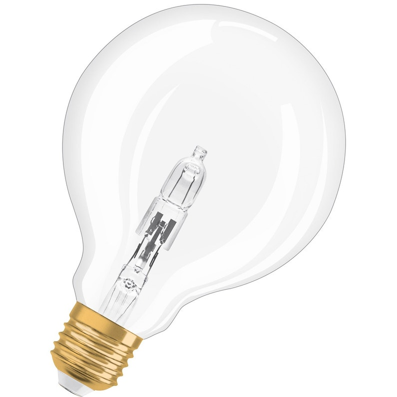 Ampoule Filament Globe Halogène E27 20w 235lm équiv 35w 2700k Osram