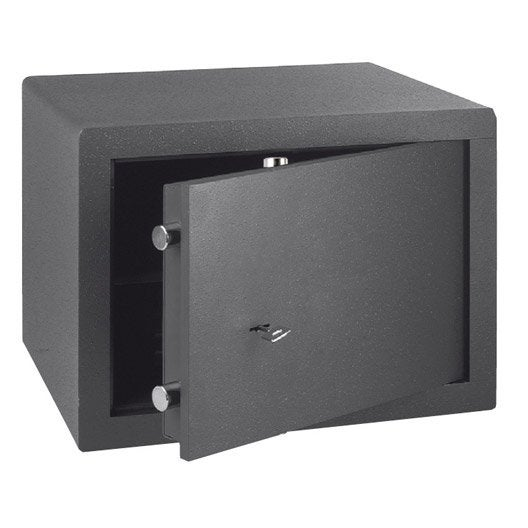 coffre fort cl bricard 85043 x x cm leroy merlin. Black Bedroom Furniture Sets. Home Design Ideas