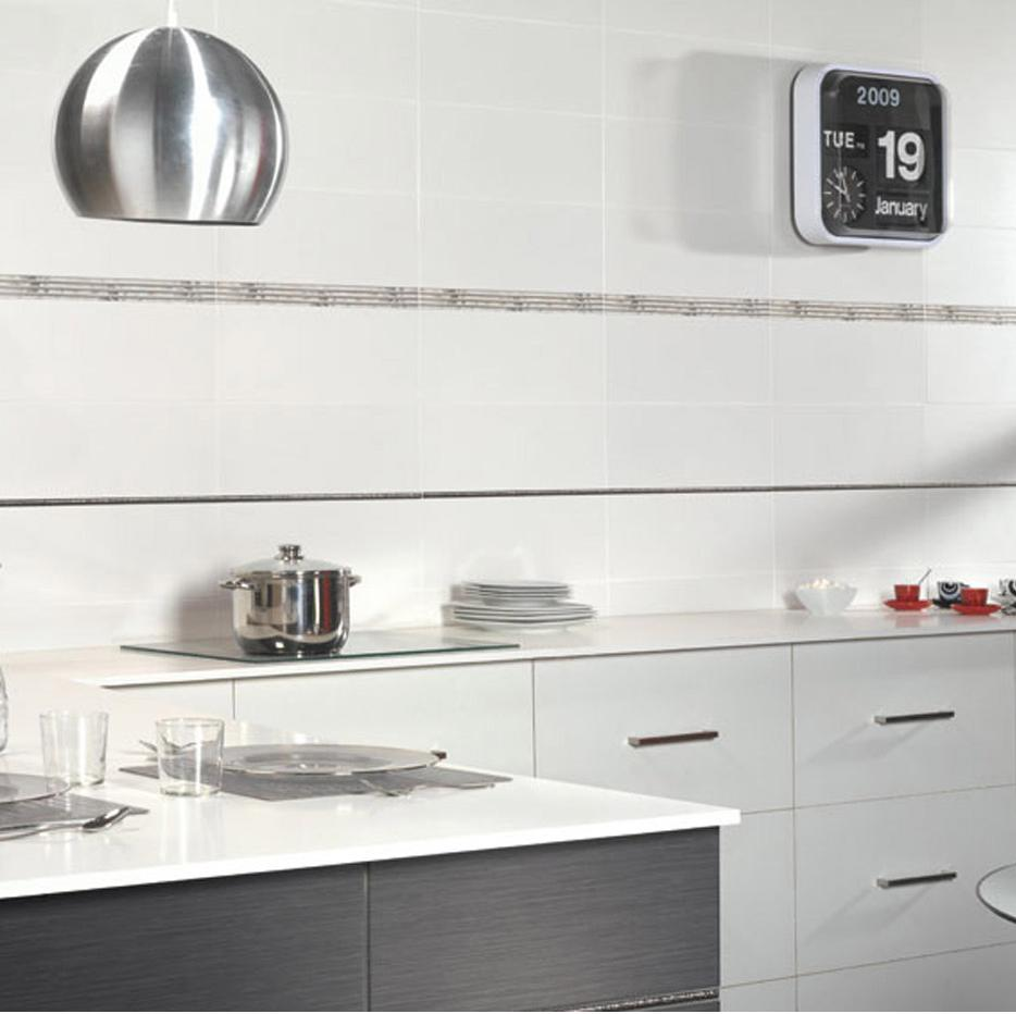 fa ence mur gris clair satin x cm sidney. Black Bedroom Furniture Sets. Home Design Ideas