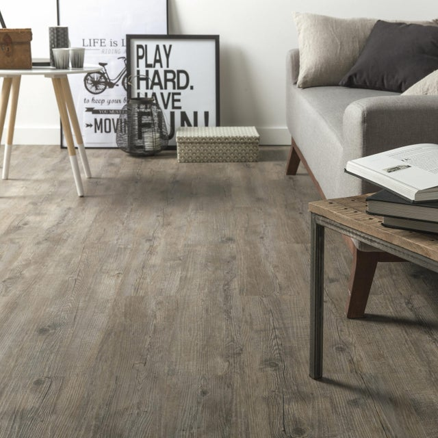 Lame Pvc Adhésive Repositionnable Intenso Gerflor Senso Adjust Pecan