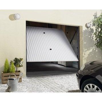 Porte de garage basculante manuelle H.200 x l.240 cm