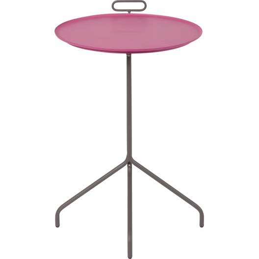 table gu ridon ronde rose 2 personnes leroy merlin. Black Bedroom Furniture Sets. Home Design Ideas