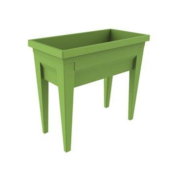 Potager sur pieds EDA PLASTIQUES vert L.76 x l.38.5 x H.68 cm