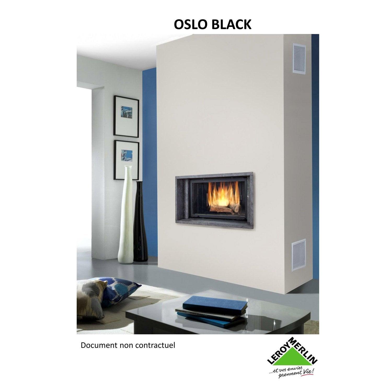 habillage de chemin e cadre en pierre chinvest usine dargemont oslo black leroy merlin. Black Bedroom Furniture Sets. Home Design Ideas