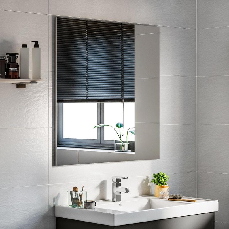 Faience Mur Blanc Mat L30 X L60 Cm