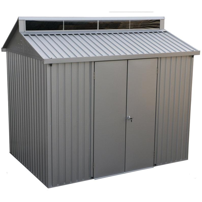 Abri De Jardin Aluminium Duramax Ep 0 4 Mm 6 8 M