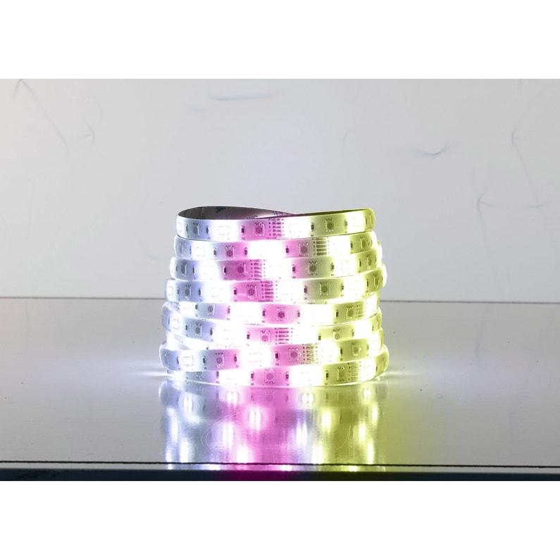 Kit Ruban Led Connecté Bluetooth 5m Multicolore 400 Lumens Eglo Connect