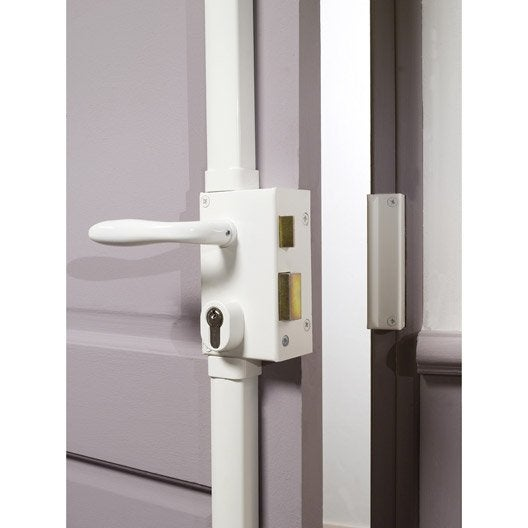 Serrure en applique multipoint bricard poign e gauche for Porte 5 points