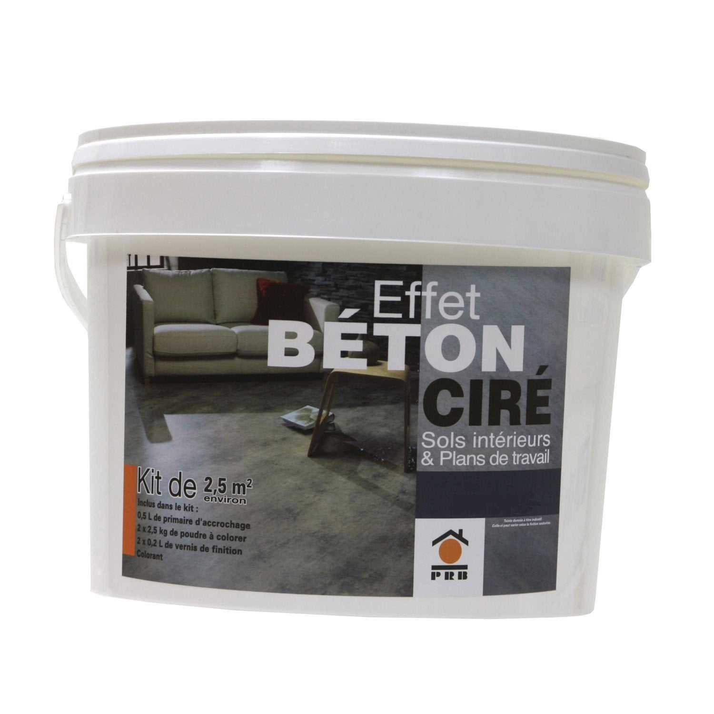 b ton effet cir gris galet prb leroy merlin. Black Bedroom Furniture Sets. Home Design Ideas