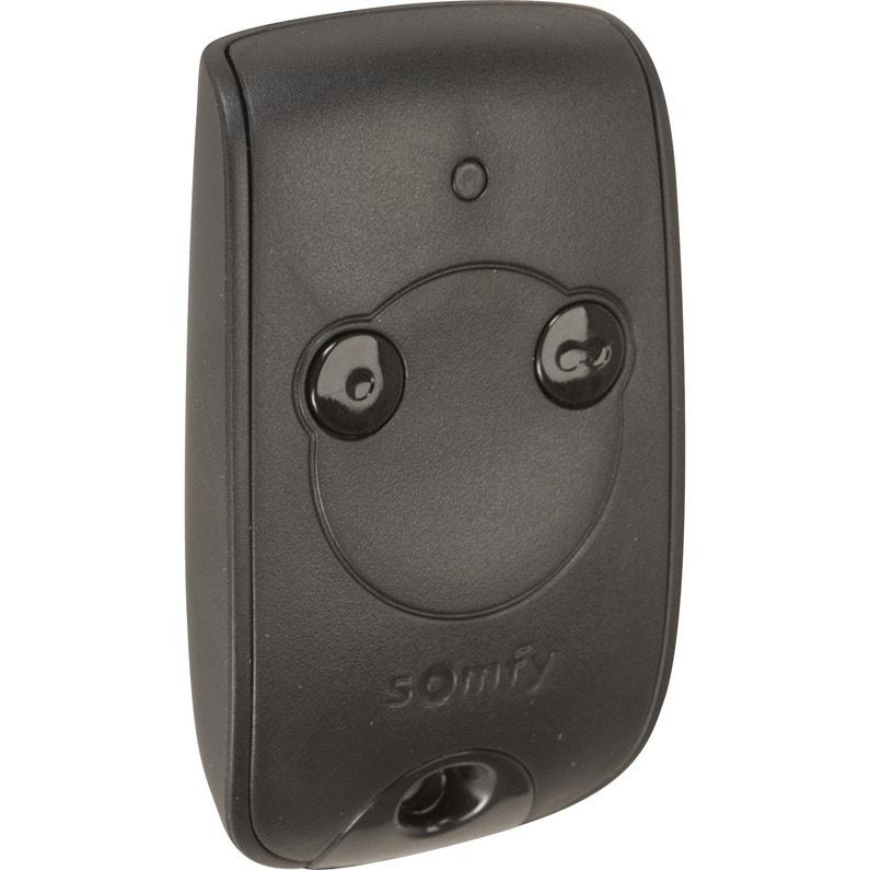 Télécommande 2 Canaux Pour Motorisation De Portail Somfy