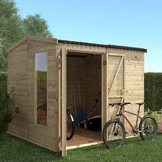 Abri de jardin cabane chalet kiosque garage leroy merlin - Plan lit cabane leroy merlin ...