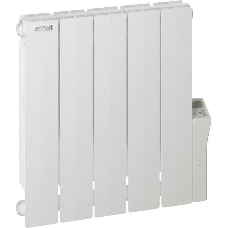 Radiateur électrique à Inertie Fluide Acova Cotona Lcd 1000 W