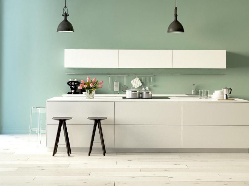 Peinture Mur Cuisine Et Bains Syntilor Blanc Mat 0 75 L