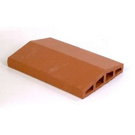 couvre mur 2 pans lisse rouge h 7 x x cm leroy merlin. Black Bedroom Furniture Sets. Home Design Ideas