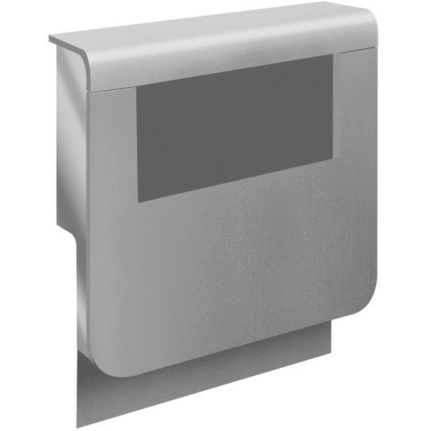 Adaptateur Aluminium Pour Plinthe H 19 X P 16 5 Cm Leroy Merlin