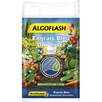 Engrais universel ALGOFLASH 5kg 150 m²