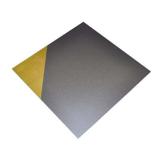plaque lisse pvc mat x cm x ep 0 1 mm leroy. Black Bedroom Furniture Sets. Home Design Ideas