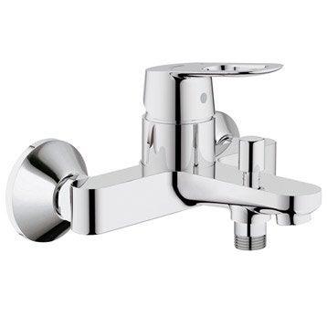 Mitigeur mécanique de baignoire chromé, GROHE Start loop