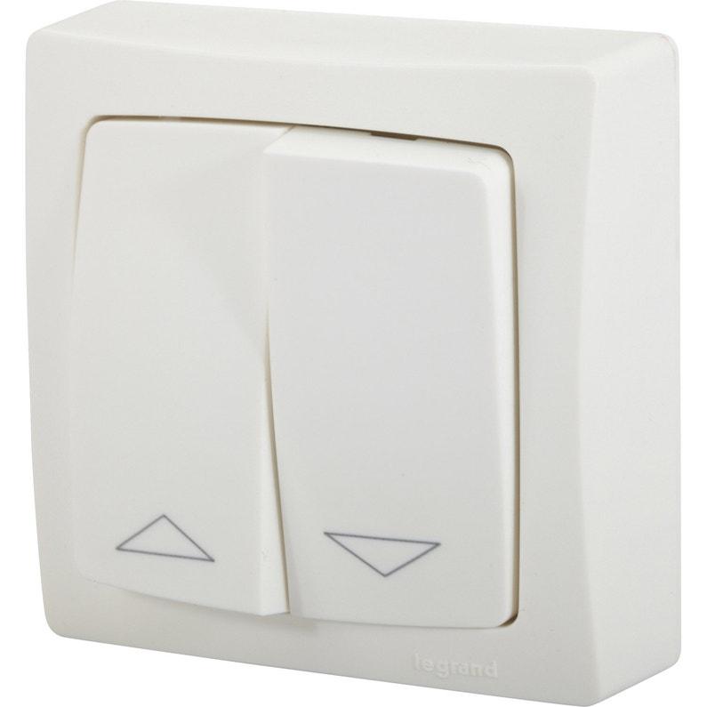 interrupteur volet roulant legrand. Black Bedroom Furniture Sets. Home Design Ideas