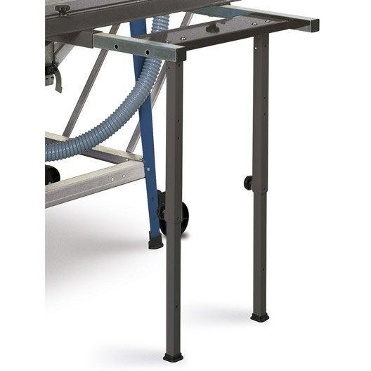 rallonge de table lat rale rabattable pour tisa 5 0 scheppach leroy merlin. Black Bedroom Furniture Sets. Home Design Ideas