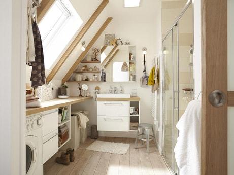 Meuble salle de bain et vasque leroy merlin for Leroy merlin poubelle salle de bain