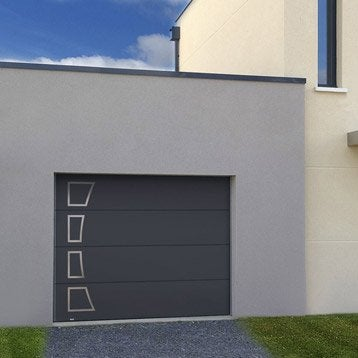 Porte de garage sectionnelle basculante porte de garage - Leroy merlin porte garage sectionnelle ...