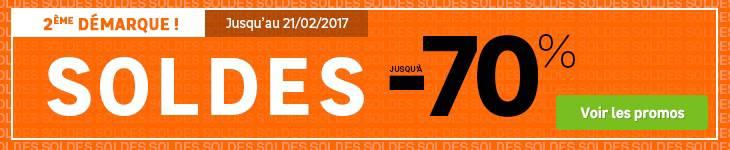 Soldes Janvier 2017 -70%