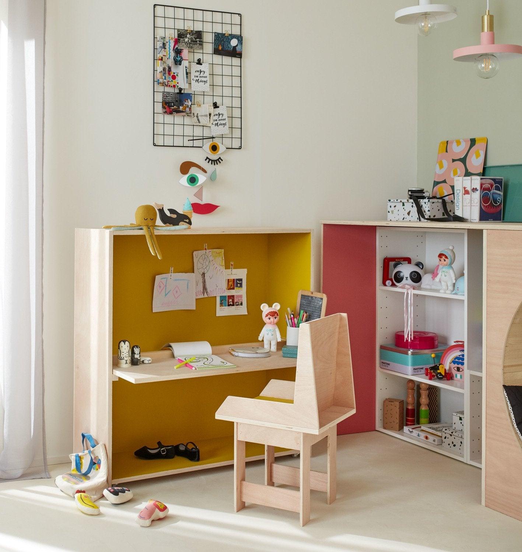 Une chambre d\'ado de style industriel | Leroy Merlin