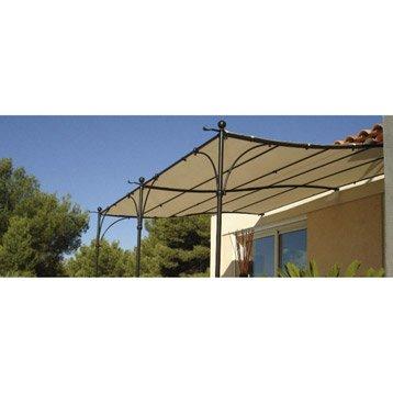 Toile polyester Provence beige l.300 x L.400 cm