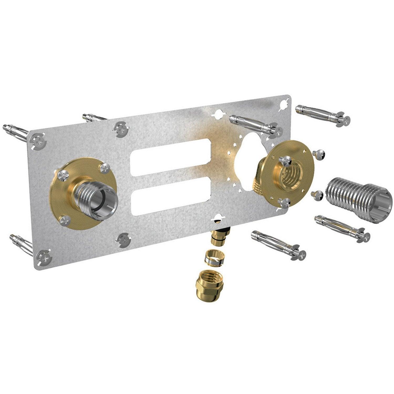 Kit d 39 installation femelle compression pour tube - Platine douche multicouche ...
