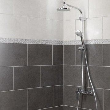 carrelage mural et faïence pour salle de bains et crédence de ... - Photo Faience Salle De Bain