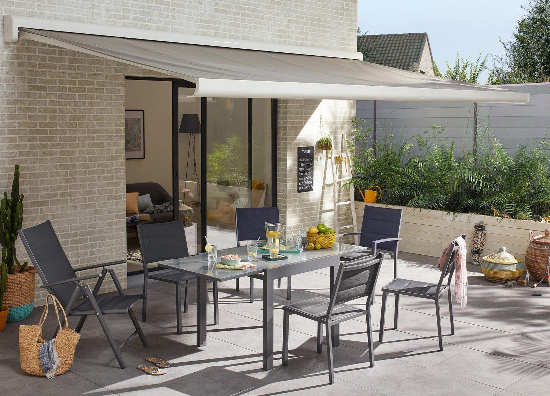 Le store banne pour une terrasse ombragée | Leroy Merlin