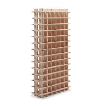 Casier 78 emplacements bois brut