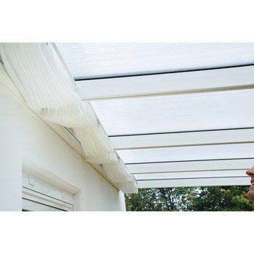 Store polyester blanc l.271 x L.407 cm