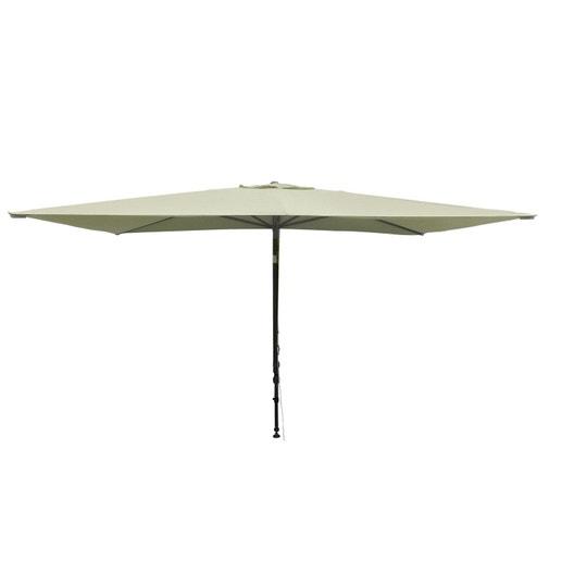 Parasol balcon léo écru rectangulaire l 300 x l 150 cm