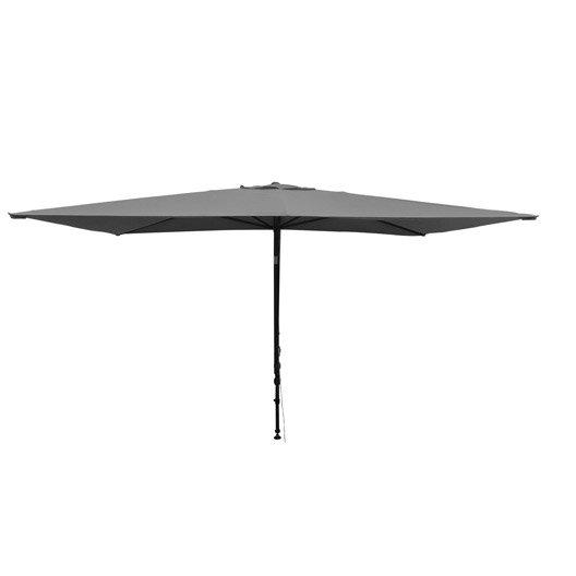 Parasol balcon l o gris rectangulaire x cm - Parasol leroy merlin ...