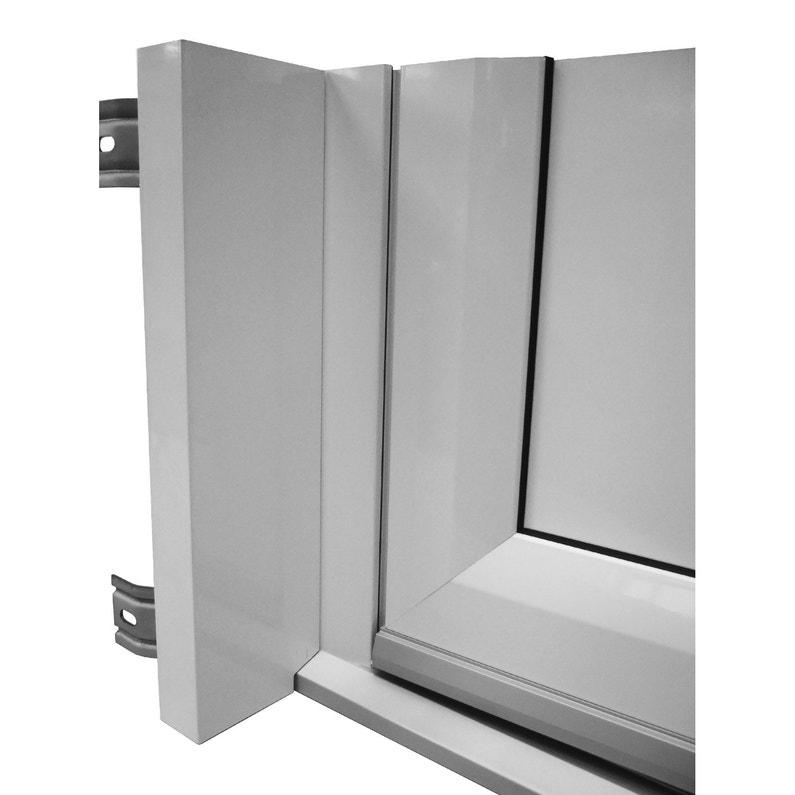 Tapée D Isolation Pour Porte D Entrée H 215 X L 90 Cm Aluminium Essentiel