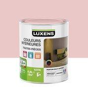 Peinture rouge gourmand 6 LUXENS Couleurs intérieures satin 0.5 l
