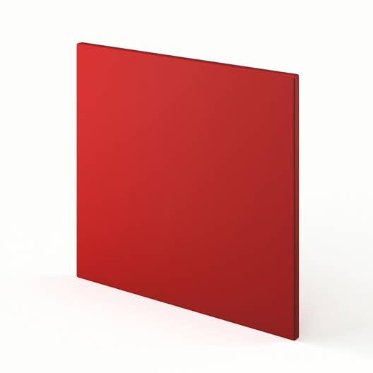 porte lave vaisselle de cuisine rouge d lice x. Black Bedroom Furniture Sets. Home Design Ideas
