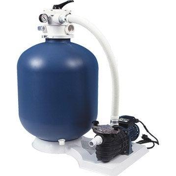 Kit de filtration à sable AQUALUX 103461 10 m³/h