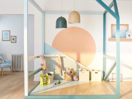 R aliser un espace de jeux dans le salon leroy merlin - Leroy merlin espace client ...