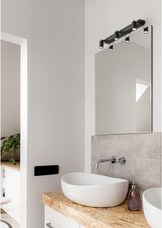 Rampe 3 spots Tivoli, LED 3 x 4 W, LED intégrée blanc froid