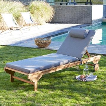 Salon De Jardin Florida Gris au meilleur prix | Leroy Merlin