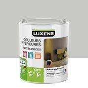 Peinture gris smoke 6 LUXENS Couleurs intérieures satin 0.5 l