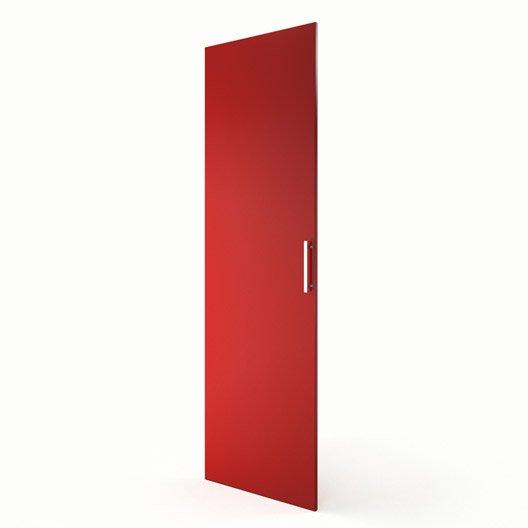 Porte colonne de cuisine rouge d lice x cm for Porte 60 avis