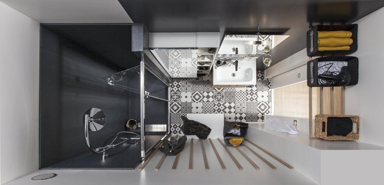 ophrey.com : idee salle de bain gain de place ~ prélèvement d ... - Salle De Bain Gain De Place
