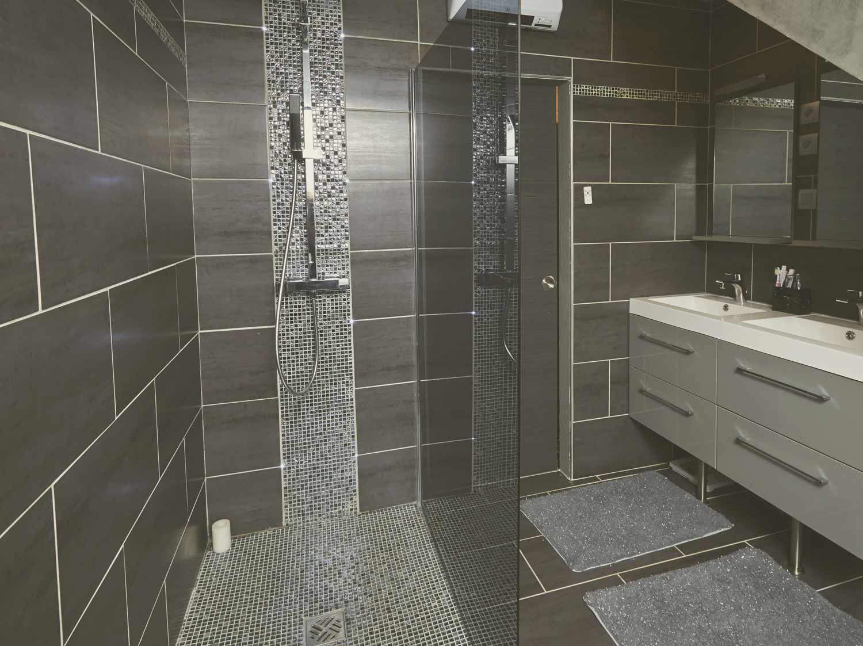 Vos réalisations de douche à l'italienne