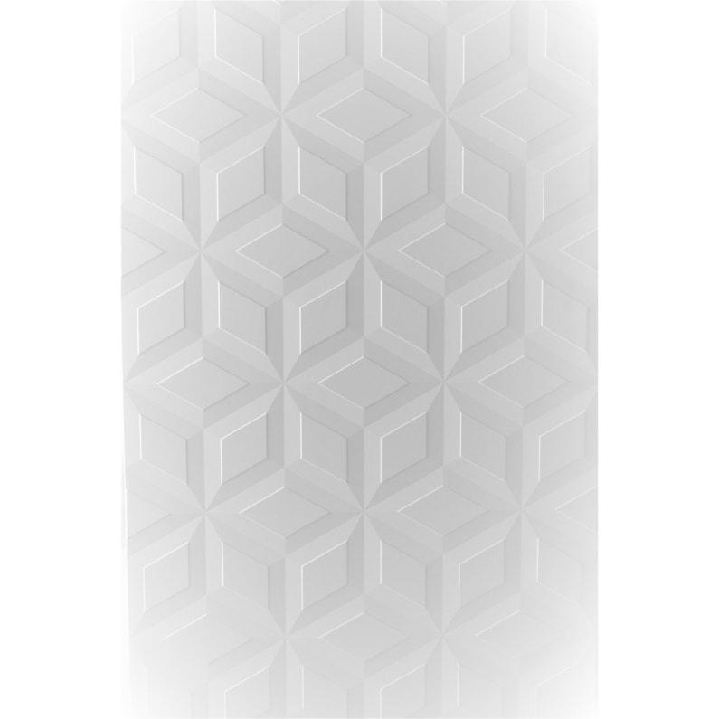 Porte De Placard Coulissante Origami Blanc Miroir Spaceo L 98 7 X H 250 Cm