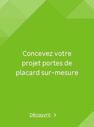 Porte De Placard Et Cloison Standard Et Personnalisable